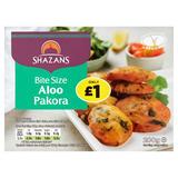 Shazans Bite Size Aloo Pakora 200g