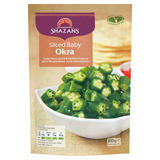 Shazans Sliced Baby Okra 300g
