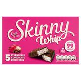 Skinny Whip Strawberry & Chocolate Snack Bars 5 x 25g
