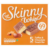 Skinny Whip Toffee & Chocolate Snack Bar 5 x 25g