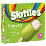 Skittles Cooler Sour Fruity Ice Cream 3 x 100ml