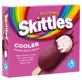 Skittles Wild Berry Fruity Ice Cream 3 x 100ml