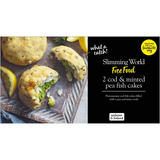 Slimming World 2 Cod & Minted Pea Fish Cakes 280g