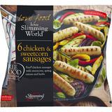 Slimming World 6 Chicken & Sweetcorn Sausages 360g