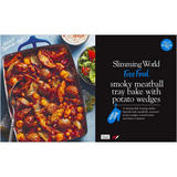 Slimming World  Smoky Meatball Tray Bake with Potato Wedges 1.1kg