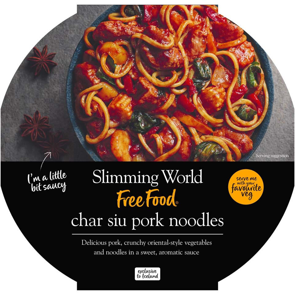 Slimming World Char Siu Pork Noodles 550g Chinese New Year