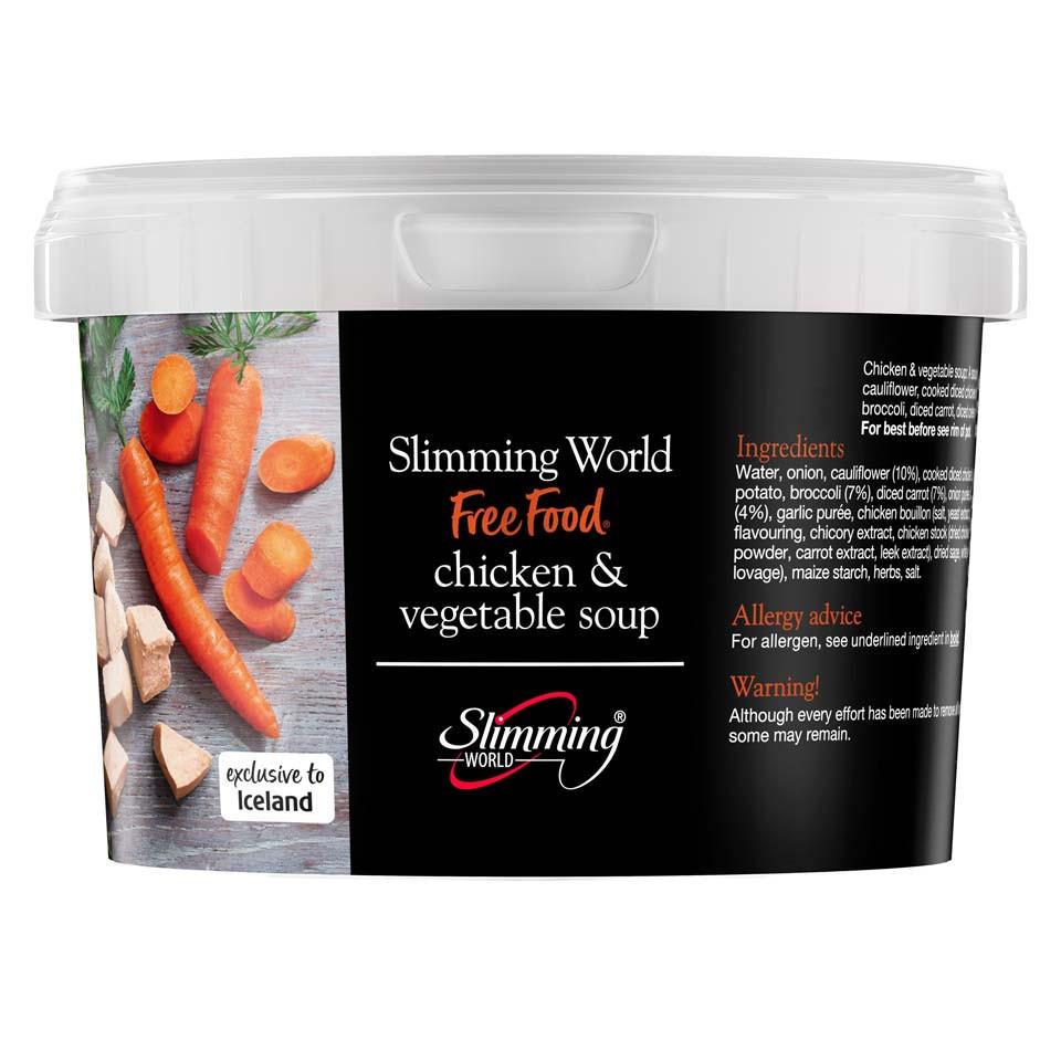 Slimming World Chicken Vegetable Soup 500g Slimming
