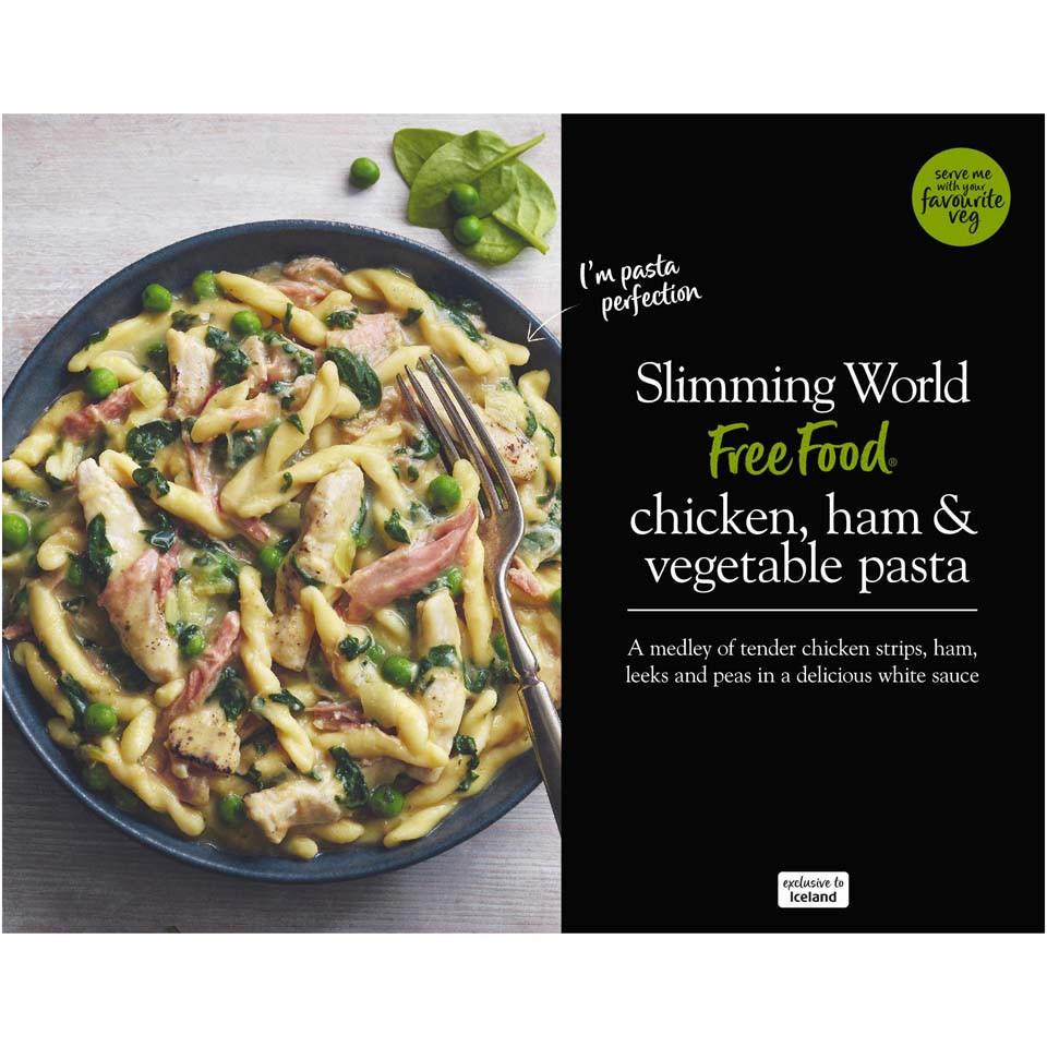 Slimming World Chicken Ham Vegetable Pasta 550g Frozen