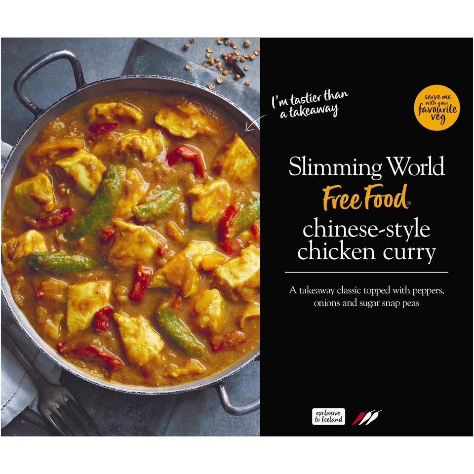 Slimming World Chinese Style Chicken Curry 500g Frozen