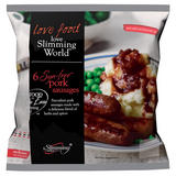 Slimming World Free Food 6 Syn-Free Pork Sausages 360g