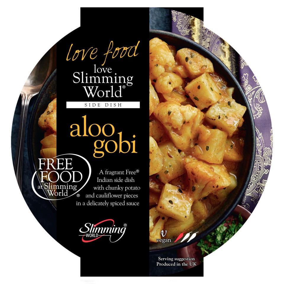 Slimming World Free Food Aloo Gobi 350g Frozen Slimming