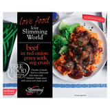 Slimming World Free Food Beef in Red Onion Gravy with Veg Crush 550g