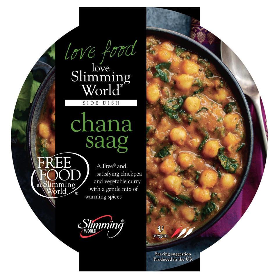 Slimming World Free Food Chana Saag 350g Indian Iceland