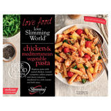 Slimming World Free Food Chicken & Mediterranean Vegetable Pasta 550g