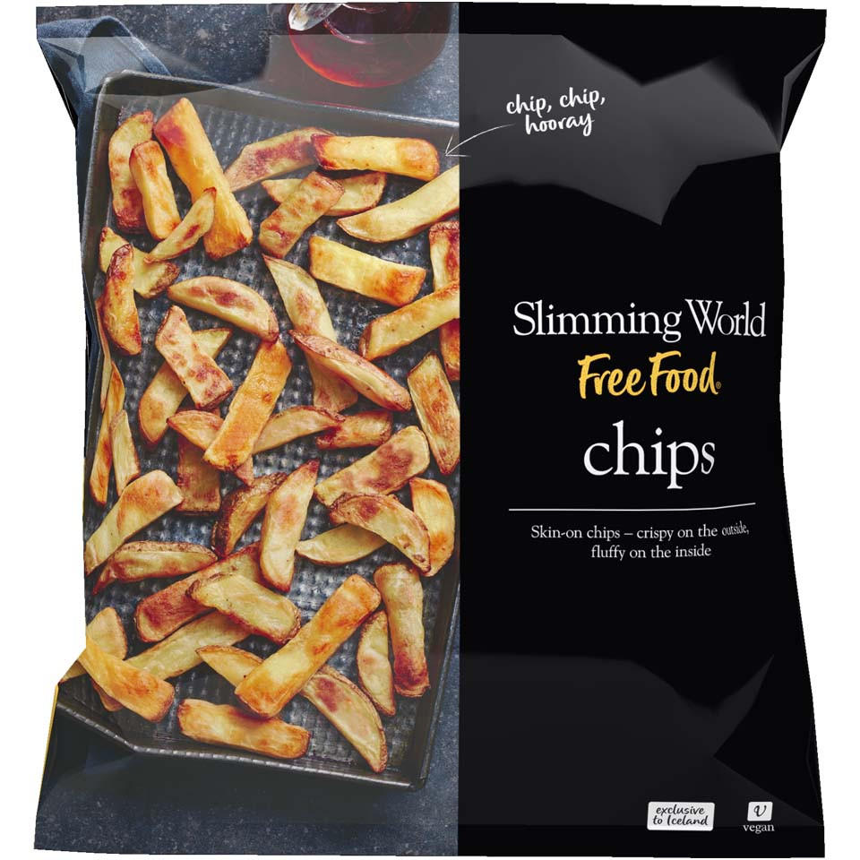 Slimming World Free Food Chips 1kg Chips Fries Iceland