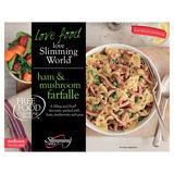 Slimming World Free Food Ham & Mushroom Farfelle 550g