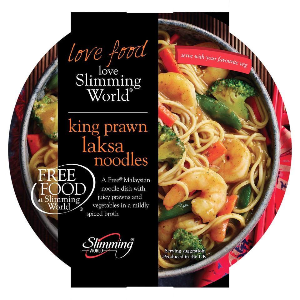 Slimming World Free Food King Prawn Laksa Noodles 550g