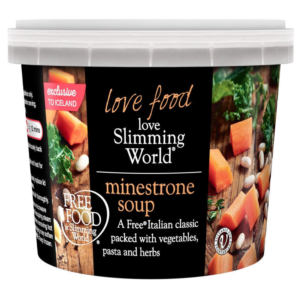 Slimming World Free Food Minestrone Soup 500g Vegetarian