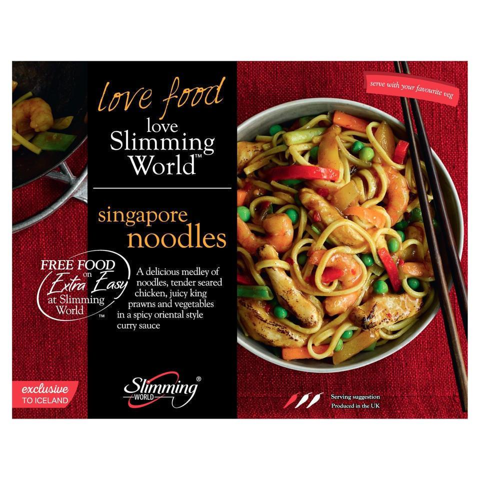 Slimming World Free Food Singapore Noodles 550g Iceland Foods