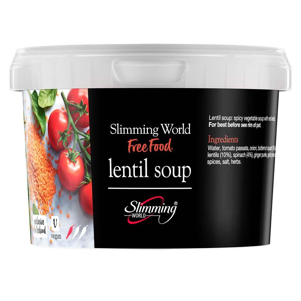 Slimming World Lentil Soup 500g Frozen Slimming World