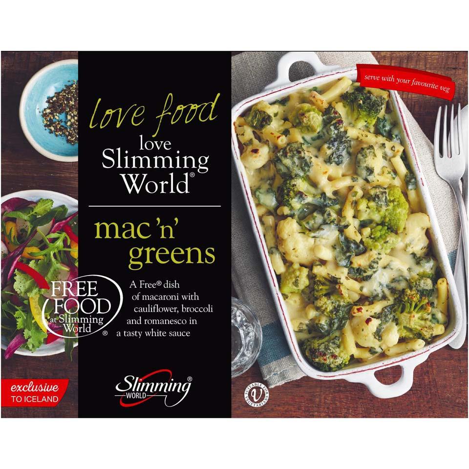 Slimming World Mac N Greens 550g Frozen Slimming World