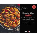 Slimming World Meatballs & Pasta with Spicy Tomato Sauce 550g