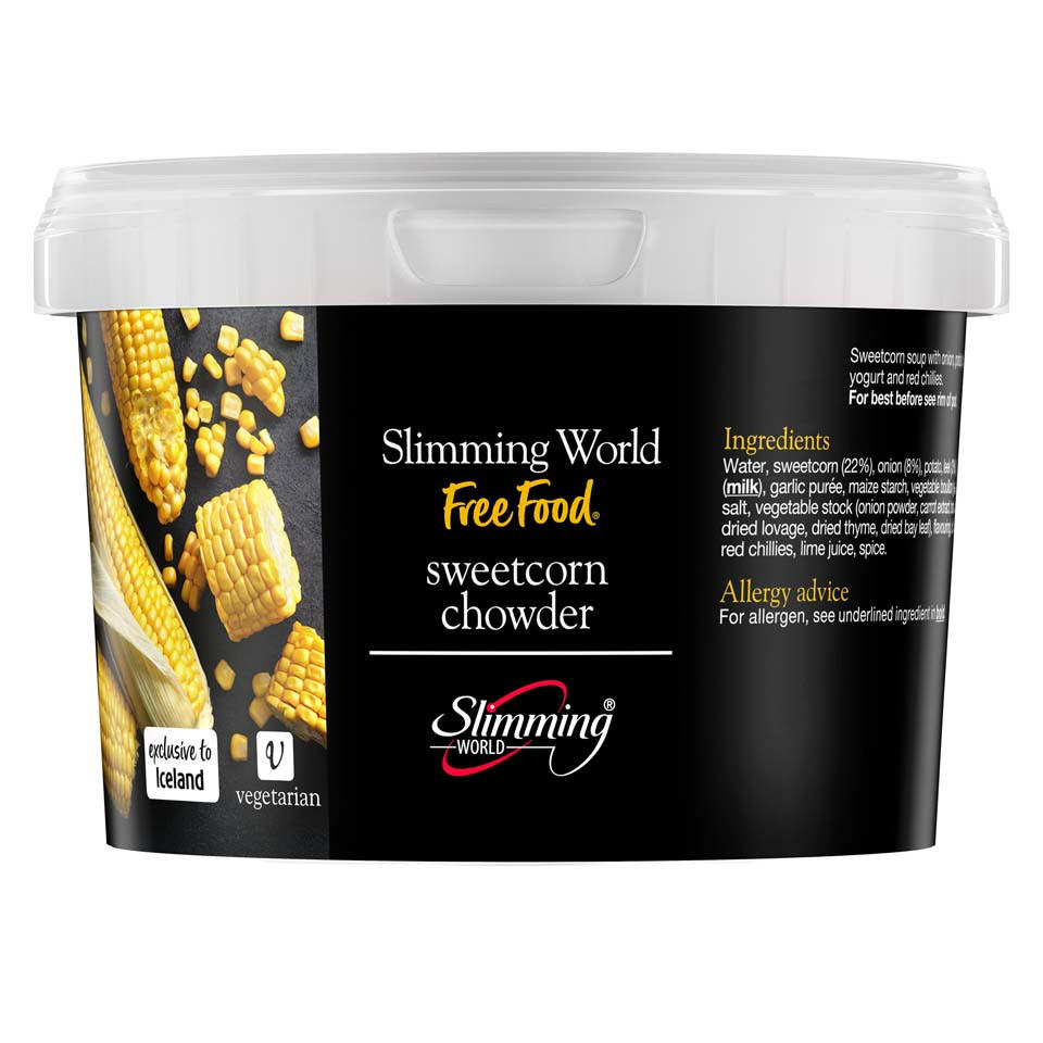 Slimming World Sweetcorn Chowder 500g Soups Iceland Foods