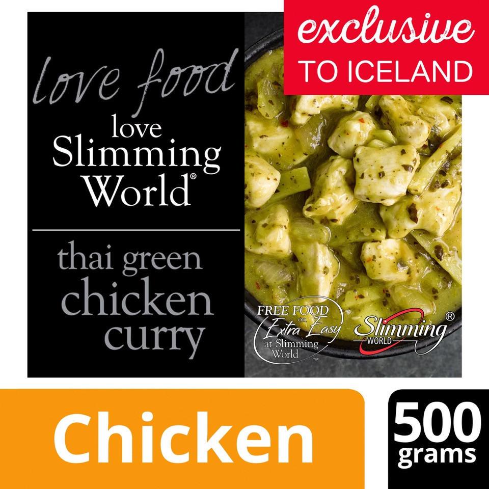 Slimming World Thai Green Chicken Curry 500g Slimming