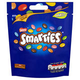 Smarties Milk Chocolate Sweets Sharing Pouch 118g