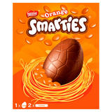 Smarties Orange Chocolate Large Easter Egg 256g