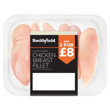 Smithfield Class A Fresh Chicken Breast Fillet Skinless and Boneless 450g