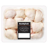 Smithfield Class A Fresh Chicken Thighs with Skin on 4kg