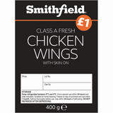 Smithfield Class A Fresh Chicken Wings with Skin on 400g
