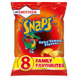 Smiths Snaps Spicy Tomato Snacks 8x13g