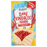 Snacksters Beef Vindaloo Naan 150g