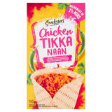 Snacksters Chicken Tikka Naan 150g