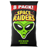 Space Raiders Pickled Onion Multipack Crisps 8 Pack