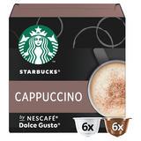 Starbucks by NESCAFÉ Dolce Gusto Cappuccino Coffee Pods 12 Pods Per Box