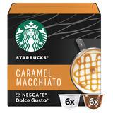 Starbucks by NESCAFÉ Dolce Gusto Caramel Macchiato Coffee Pods 12 Pods Per Box