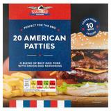 Stateside Diner 20 American Patties 994g