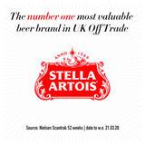 Stella Artois Belgium Premium Lager Beer Cans 10 x 440ml