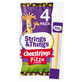 Strings & Things Cheestrings Pizza Flavour 4 x 20g (80g)