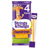 Strings & Things Cheestrings Twisted 4 x 20g (80g)