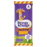 Strings & Things Scarestrings Cheestrings Twisted 4 x 20g (80g)