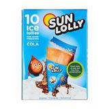 Sun Lolly 10 Cola Ice Lollies