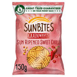 Sunbites Sweet Chilli Flavour Multigrain Snacks 150g