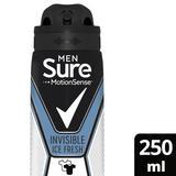 Sure Invisible Ice Antiperspirant Deodorant Aerosol 250 ml