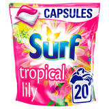 Surf Tropical Lily and Ylang-Ylang Washing Capsules 20 Wash 482 g