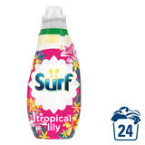 Surf Tropical Lily Concentrated Liquid Laundry Detergent 24 Washes