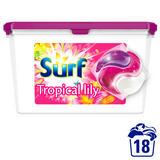 Surf Tropical Lily & Ylang-Ylang Washing Capsules 18 Washes